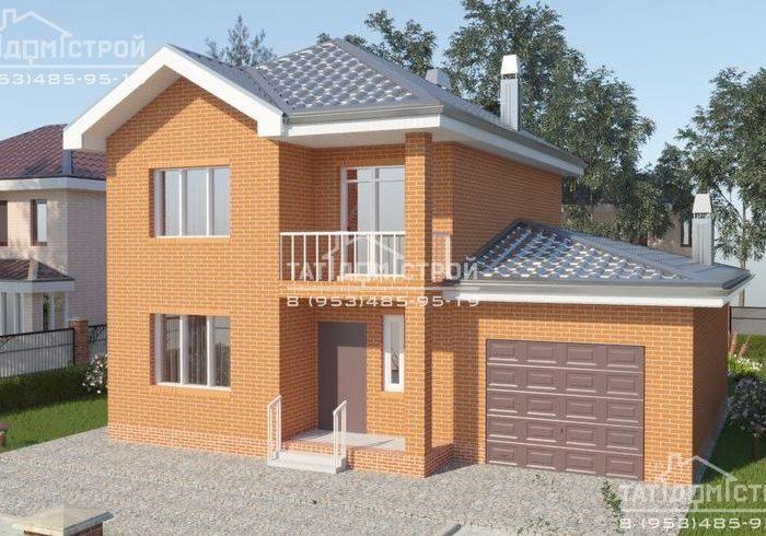 Кирпичный дом 160 м2