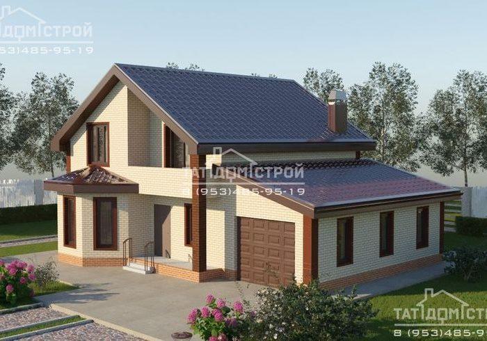 Кирпичный дом 186 м2