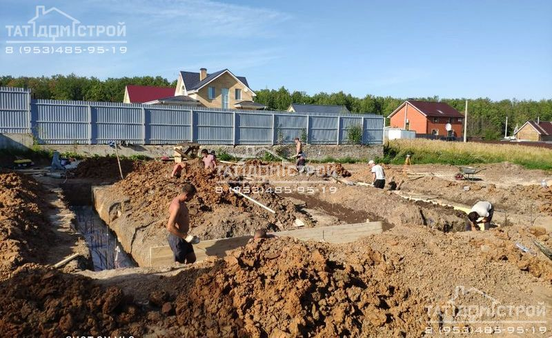 Строим фундамент Казань